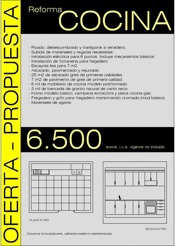 Oferta reforma cocina piso valencia arquitecto valencia - Ejemplo certificado energetico piso ...