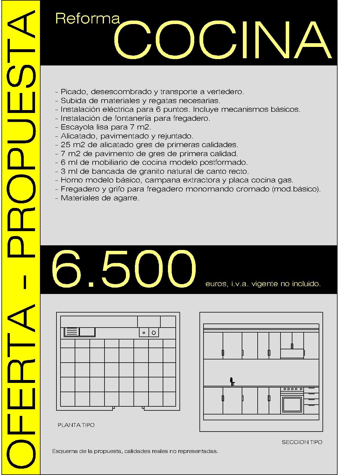 Oferta Reforma Cocina Piso Valencia – carlosbediaarquitecto.com ...