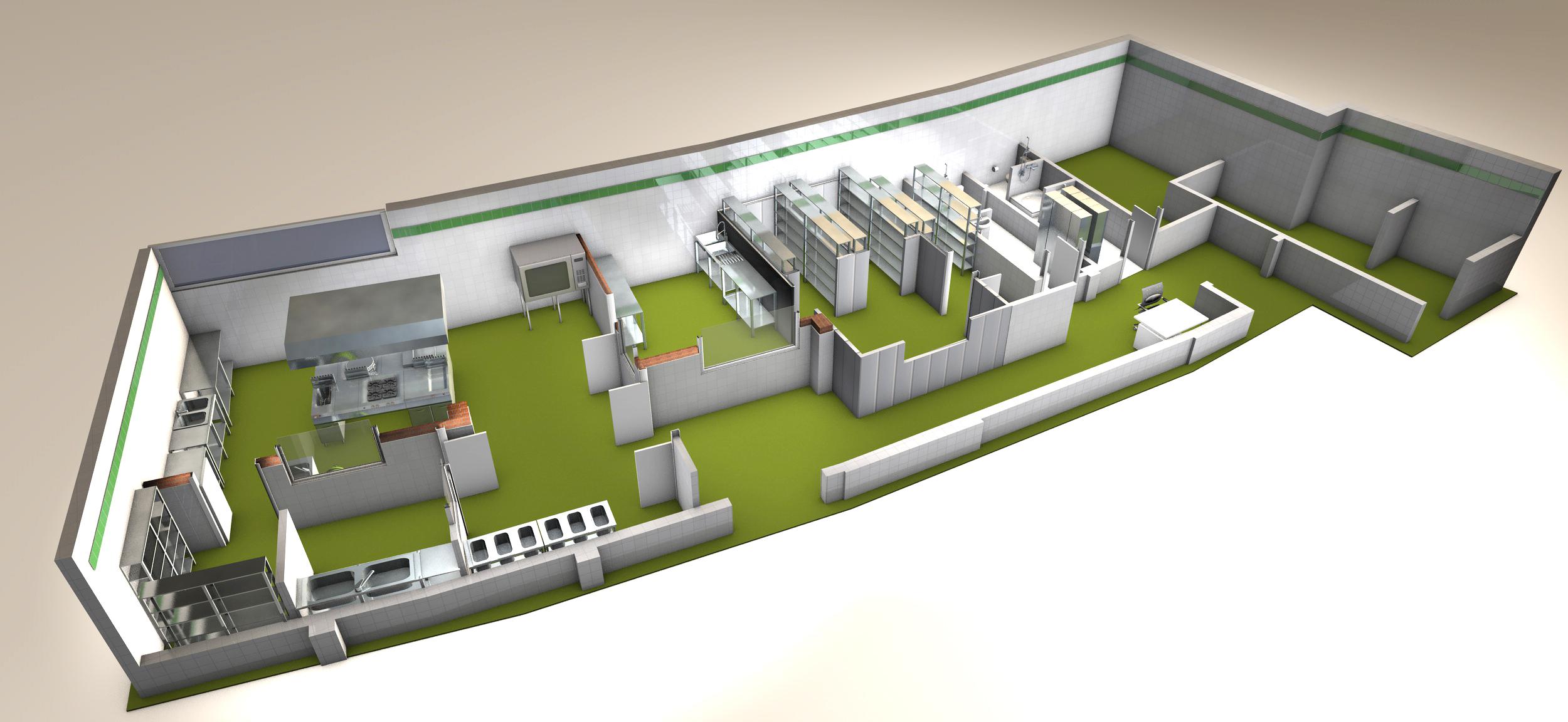 Cocinas industriales bedia arquitecto en valencia - Colegio delineantes valencia ...
