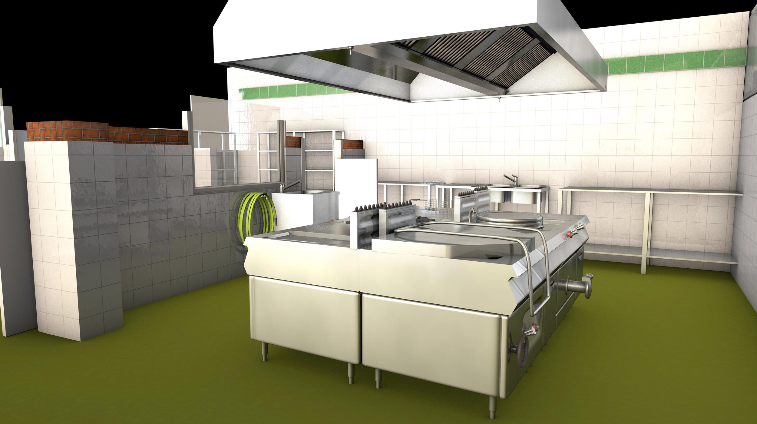 Cocinas industriales for Todo para cocinas industriales